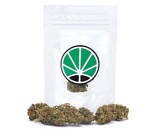emballage de california haze cannabis sans thc