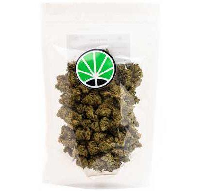 packaging de fleurs CBD cannabis Master Kush