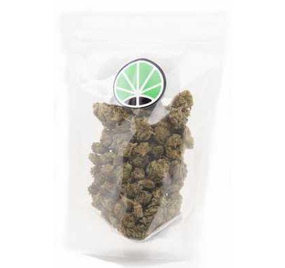 packaging de fleurs CBD cannabis Melon kush