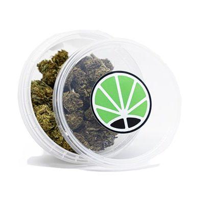 emballage de orange bud cannabis sans thc