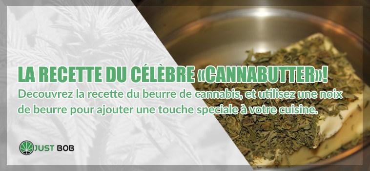 Cannabutter: la recette avec beurre de cannabis CBD