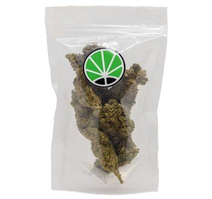 packaging de fleur de CBD cannabis Bubblegum