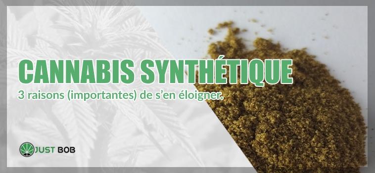 Cannabis synthétique et chanvre légal