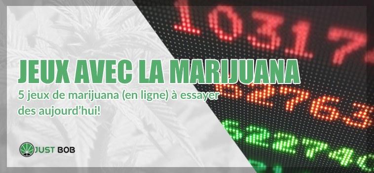Jeux avec la marijuana cbd