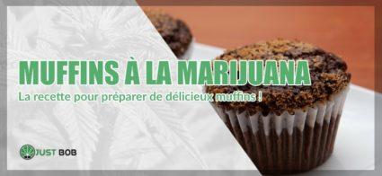 recette Muffins à la marijuana