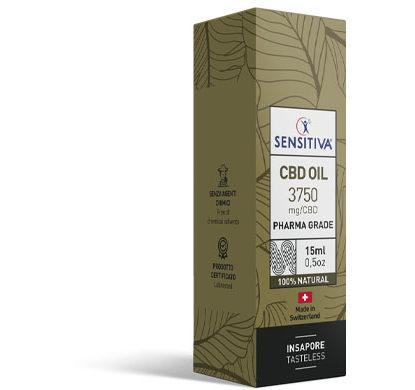 Emballage Huile de CBD au format 15 ml | 25% - Sensitiva