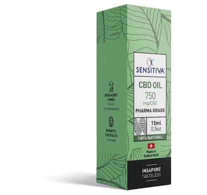 Emballage Huile de CBD au format 15 ml | 5% - Sensitiva