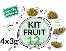 Kit de test FRUIT 4 varietés de cannabis légal 12 grammes