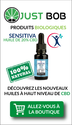 Bouteille d'huile 20% au CBD-Sensitiva