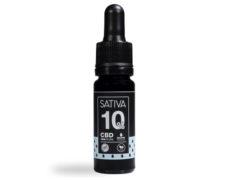 Flacon Huile CBD 10 ml au 10% - Sativa
