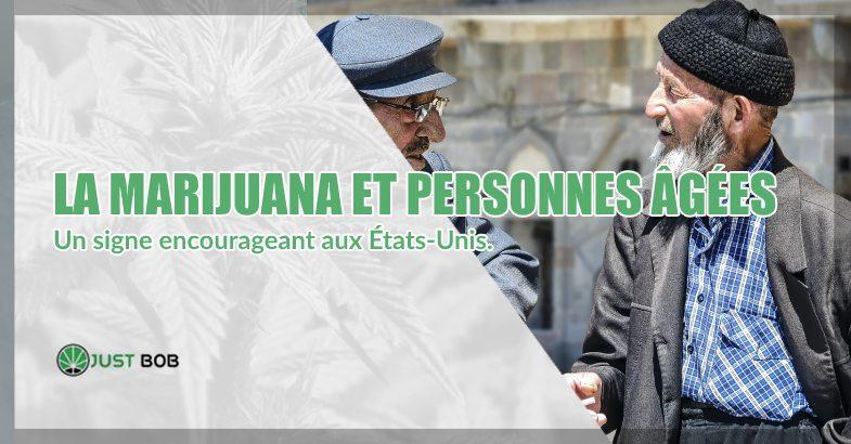 La marijuana et personnes âgées
