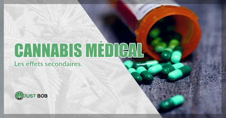 effets secondaires du cannabis médical