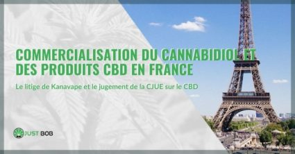 Commercialisation du cannabidiol et des produits CBD en France
