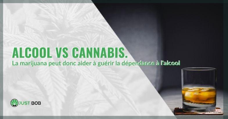 Comment la marijuana peut-elle aider à traiter la dépendance à l'alcool?