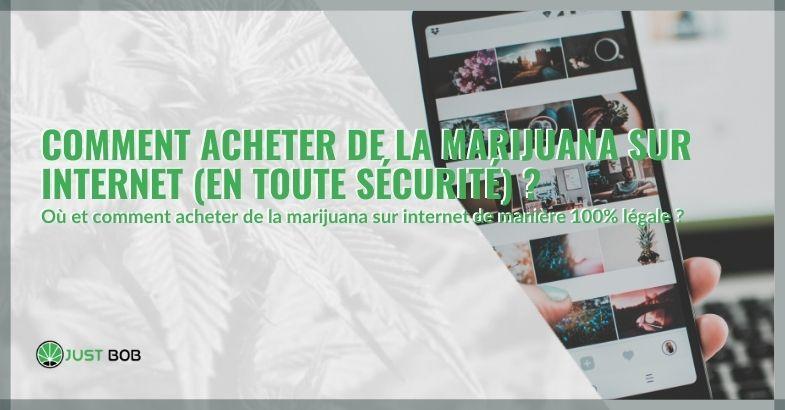 Comment acheter de la marijuana sur Internet