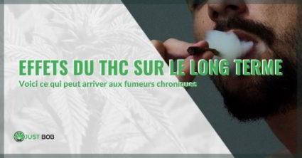 Effets du THC sur le long terme.