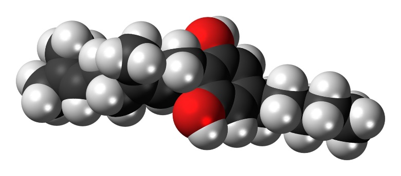 La molécule de cannabigérol contenue dans le Zkittles CBG