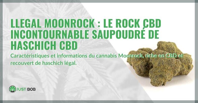 Moonrock légale : le cristal de CBD incontournable