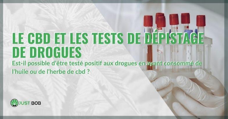 Le CBD apparaît-il dans les tests sanguins et urinaires?