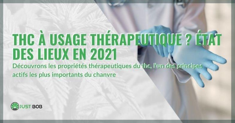 La situation en 2021 sur le THC à usage thérapeutique