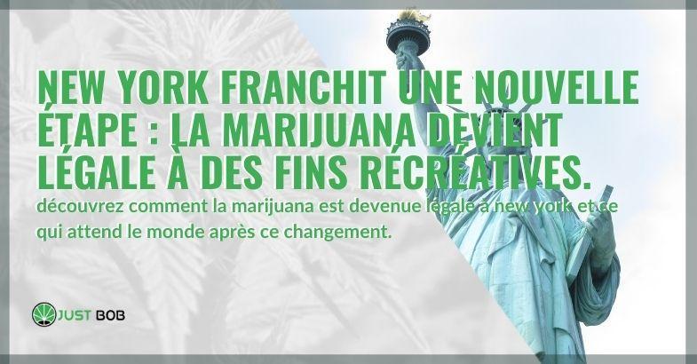 Découvrez comment la marijuana récréative est devenue légale à New York