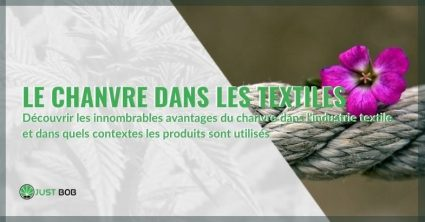Découvrez les principales utilisations du chanvre dans le secteur textile et toutes ses propriétés